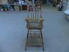 ancienne chaise de bébé