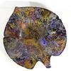 Grande corbeille en laque de verre polychrome Bouillet pièce unique