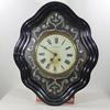 Ancienne pendule horloge Oeil de Boeuf