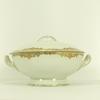 Soupière en porcelaine de Limoges, Maison Bernardaud, décor