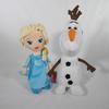 Peluche Reine des Neige + Olaf