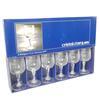 6 verres en cristal d'Arques modèle Matignon 12 cl