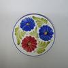 Assiette Décorative en Porcelaine Décor Fleural