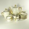 Service à café en porcelaine de Limoges F. Legrand & Cie