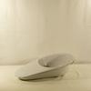 Ancien bassin de lit médical urinal émaillé objet de médecine