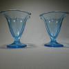 Lot de 2 Coupes à Glace Bleu Turquoise