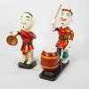 Lot de 2 figurines chinoises