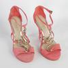 Sandales à talon rose San Marina Taille 37