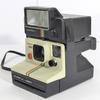 Polaroid vintage Supercolor 1000 Land Camera + Flash Polatronic 1