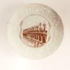 Assiette décorative Bordeaux