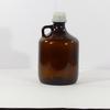Ancienne bouteille en verre teinté style pharmacie
