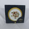 Assiette porcelaine de Limoges dorée à l'or fin
