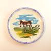 Petite assiette décorative « âne de Mirebeau »