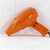Ancien sèche-cheveux Moulinex vintage orange style Space Age