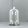 Cloche ou globe en verre globe de mariée décorative