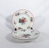 4 assiettes creuses porcelaine Sarreguemines