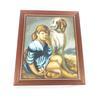 Tableau huile sur toile signé Charles Edouard