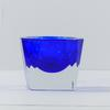 Petit vide-poches en verre de Murano Sommerso vintage futuriste