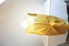 Robe sm lurex lanvin doré drapé neoud coté taille 42