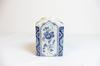 Pot Delft motif a fleur retro 1661