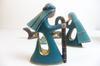 Crèche lot de 5 statuettes faites main