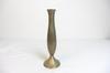 Vase rétro en métal bronzé