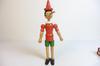 Jouet vintage en bois Pinocchio
