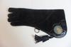 Gant Aigle en cuir souple 42 cm de couleur noir