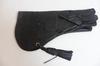 Gant Aigle en cuir mi-souple 40 cm de couleur noir de Davidson Falconry
