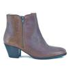 Bottines cuir marron JONAK - Pointure 36