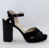 Sandales à talons JONAK en daim - Pointure 36