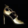 Sandales en cuir doré JONAK - Pointure 38