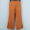 Pantalon 7/8 orange MARITHE FRANCOIS GIRBAUD - Taille estimée 36