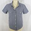Chemise AIGLE à carreaux bleus - Taille 36