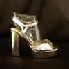 Sandales argentées MARIAMARE - Pointure 38