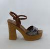 Sandales à talons BATA marron - Pointure 39