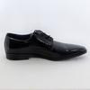 Richelieu cuir noir BATA - Pointure 44