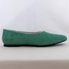 Ballerines cuir vert CAMPER - Pointure 40