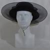Chapeau noir - Taille estimée 57