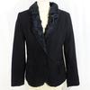 Veste noire à rayures JACQUELINE RIU - Taille 40
