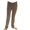 Pantalon Zara slim velours côtelé beige T 36
