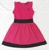 Robe rose à pois