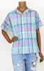 Chemise colorée Vintage