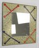 Miroir artisanal en mosaïque