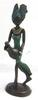 Petite Statuette de femme en bronze