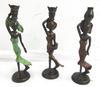 Lot de 3 Statuettes de femmes en bronze