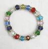 Bracelet en perles colorées T.U