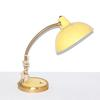 Lampe en acier jaune citron Année 50.