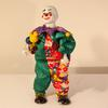 Clown musical en porcelaine