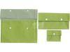 Trio de Pochettes en Tissu Vert Amande